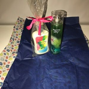 Baths and Body Works fragrance mist